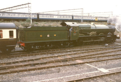 No. 6024 at Tyseley, April 1990. © Chris Brown