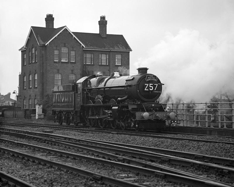 No. 6024 off its home patch at Derby, 24 November 1990. © Ian McDonald