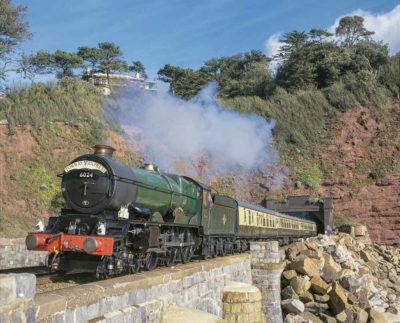 No. 6024 emerges from Parson's Tunnel on its last trip before overhaul, 26 October 2002. © Roy Avis