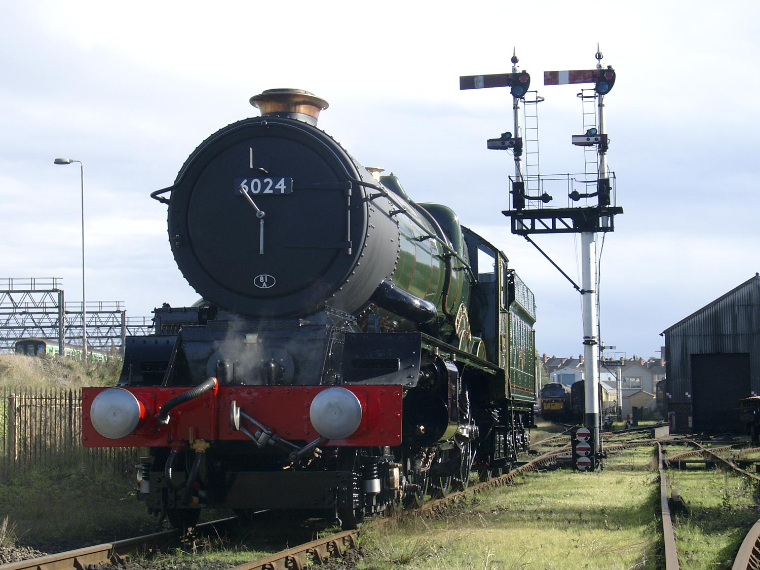 Overhaul all but complete at Tyseley Locomotive Works, 2 October 2004. © Martyn Bane