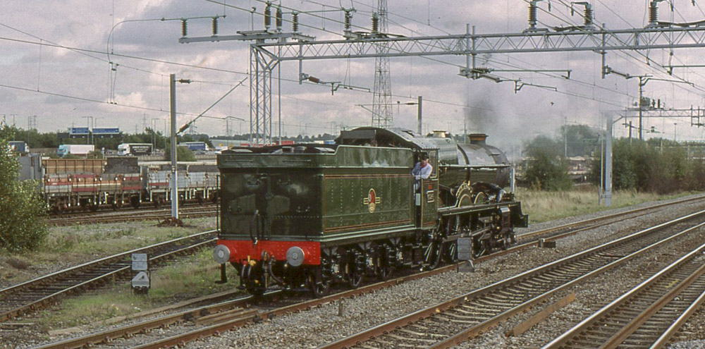 No. 6024 on a running in trip at Bescot, 7 October 2004. © Dave Fuszard