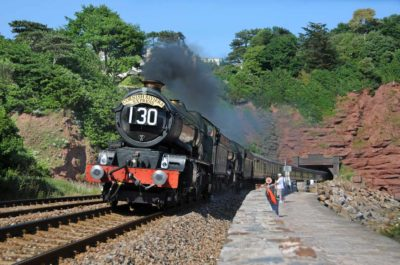 GWR175 'Cornish Riveria Express' behind Nos. 6024 & 5029 leaving Parsons Tunnel, 26 June 2010. © Robin Coombes