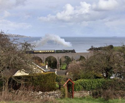 No. 6024 crossing Hookhills Viaduct, 17 March 2012. © Bob Green