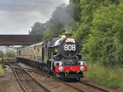 No. 6024's 80th birthday train, 10 July 2010. © Bob Green
