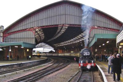 Ready to run up the Welsh Maches No. 6024 stands at Bristol Temple Meads, 16 November 2011. © Gerry Hurfurt
