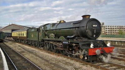 No. 6024 at Bristol Temple Meads, 12 February 2012. © Gerry Hurfurt