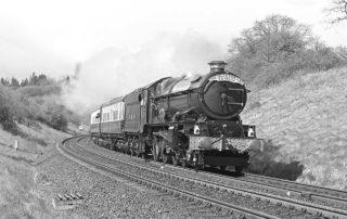 6024 King Edward I at Wood End. 15 April 1990 © R Lewis