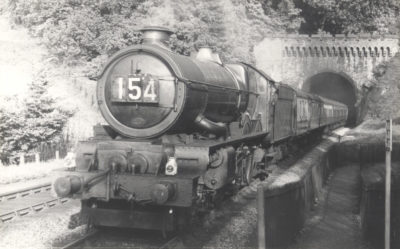No. 6024 at St Annes Park, Bristol, May 1958. © Mr Sharp