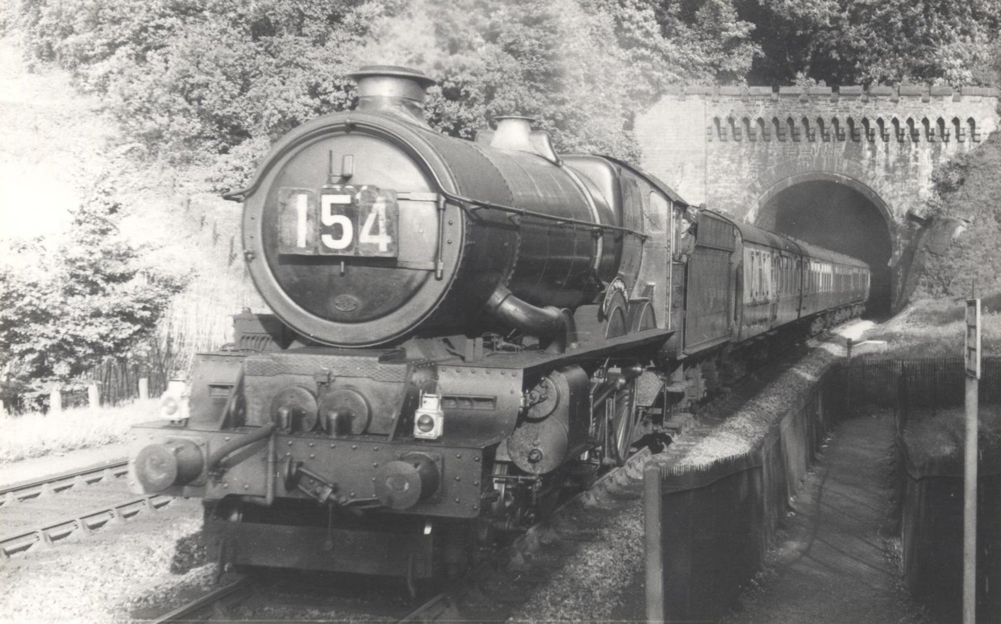 No. 6024 at St Annes Park, Bristol, May 1958. © Mr Sharp