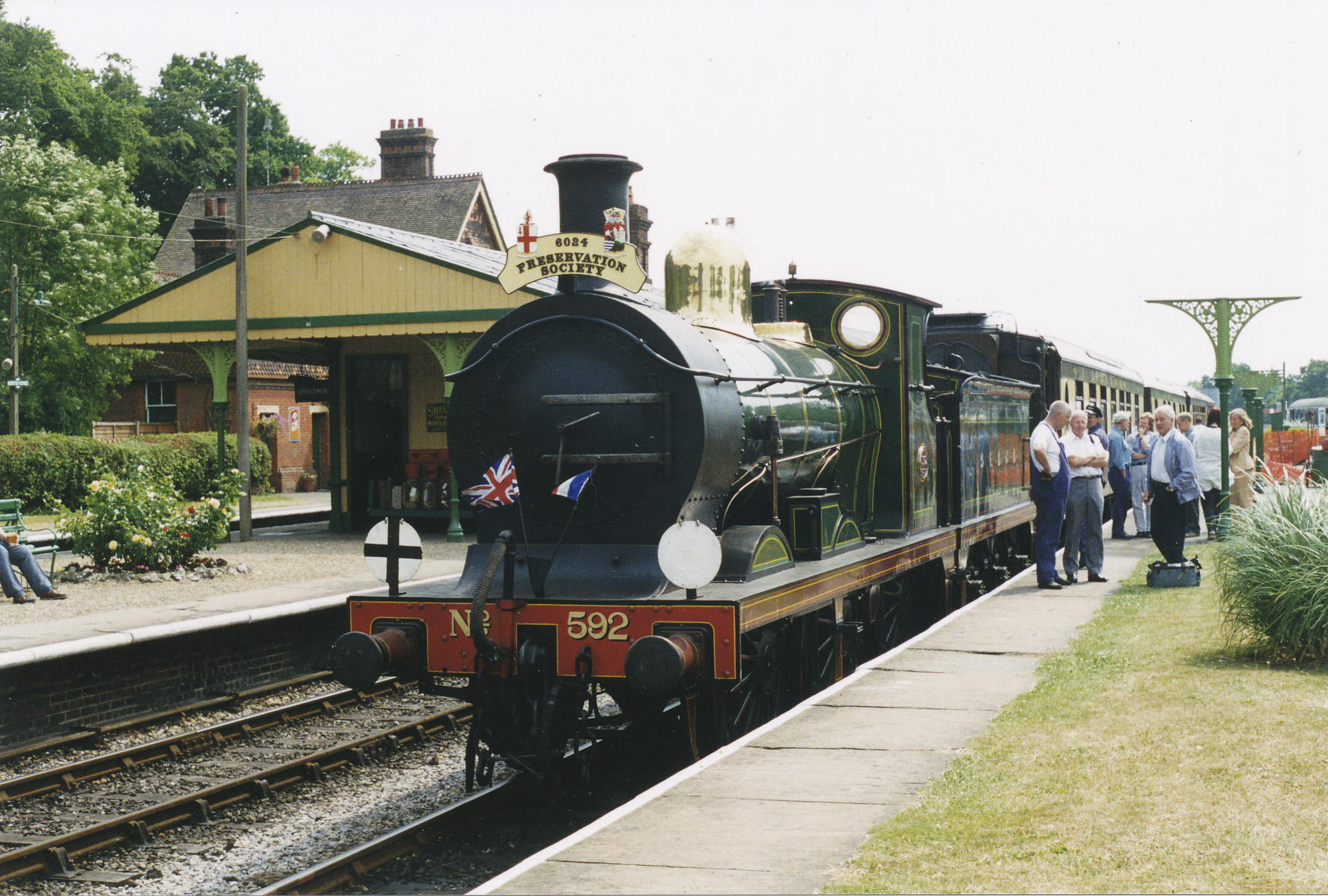 6024 Members Day on the Bluebell Railway. © Bob Robson/6024PS Ltd