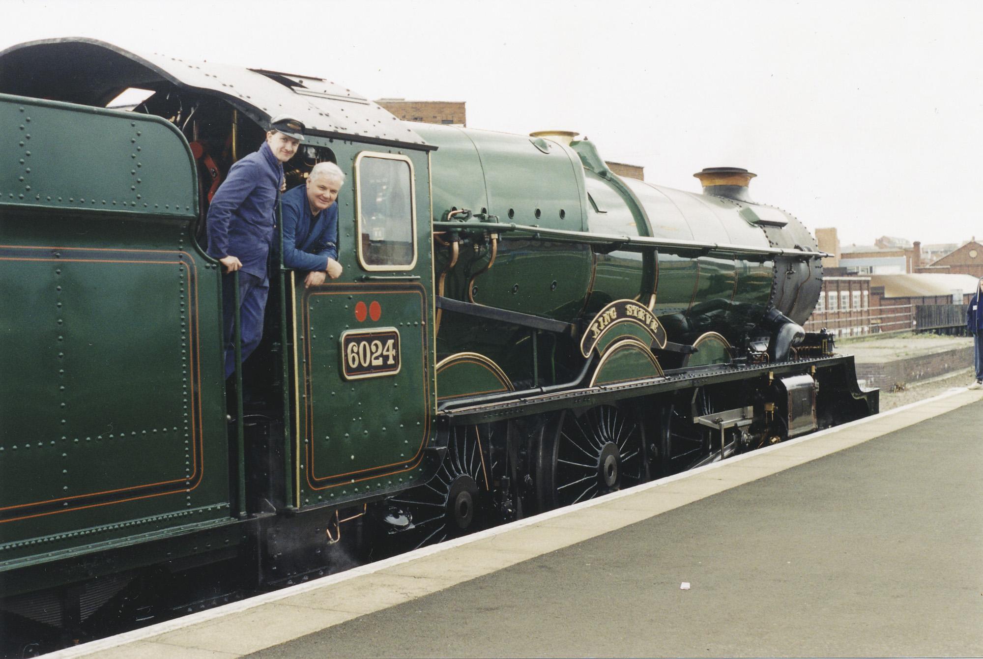 Martyn Bane and Gareth Jones. © Bob Robson/6024PS Ltd