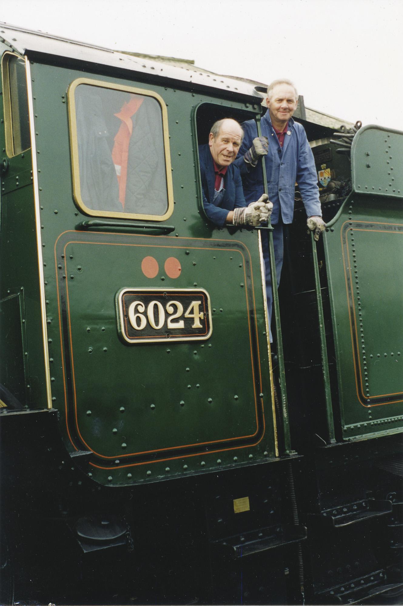 Ray Poole and Tony Llewelyn. © Bob Robson/6024PS Ltd