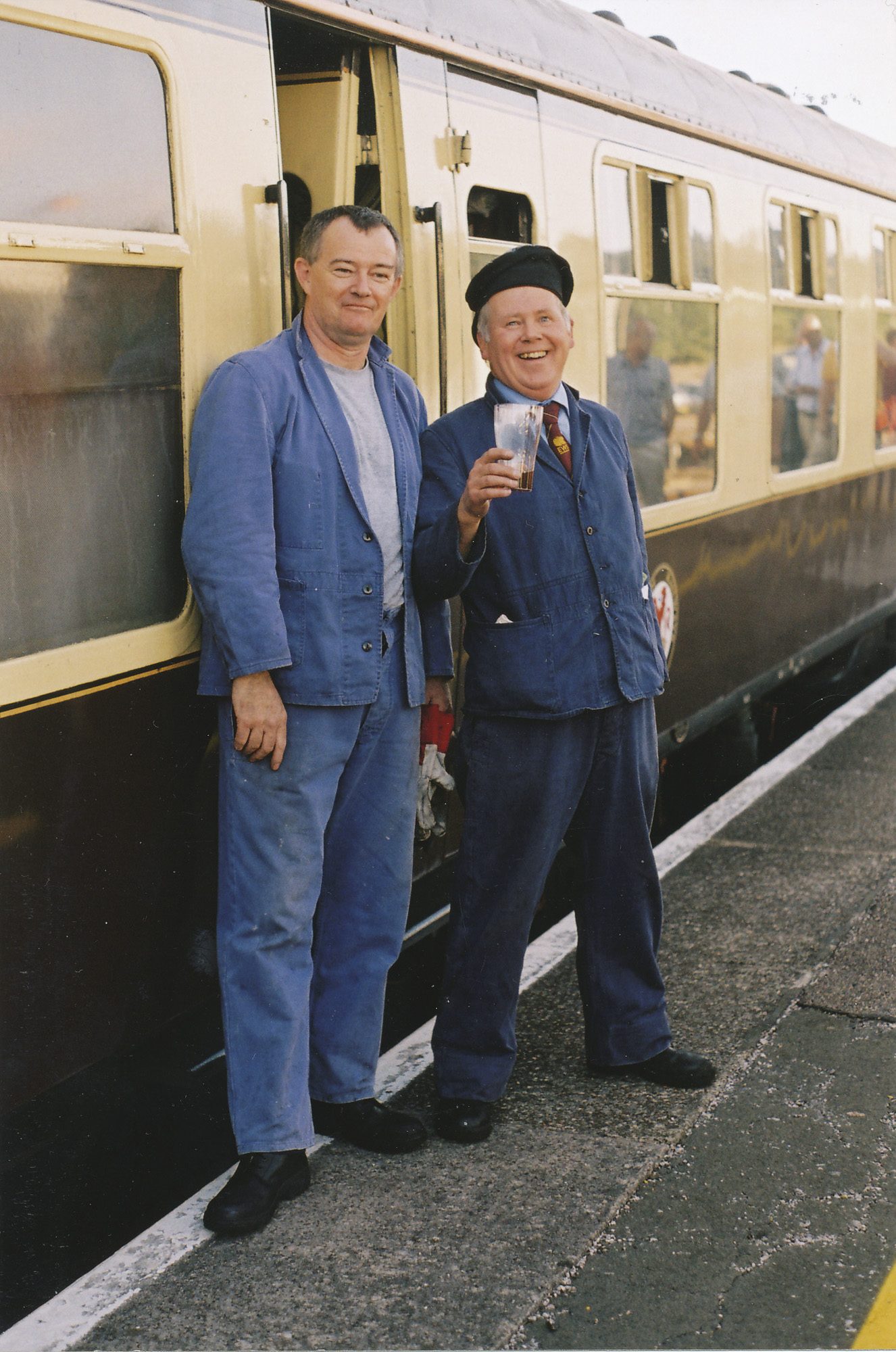 Fred Lewis and Tom Rees. © Bob Robson/6024PS Ltd
