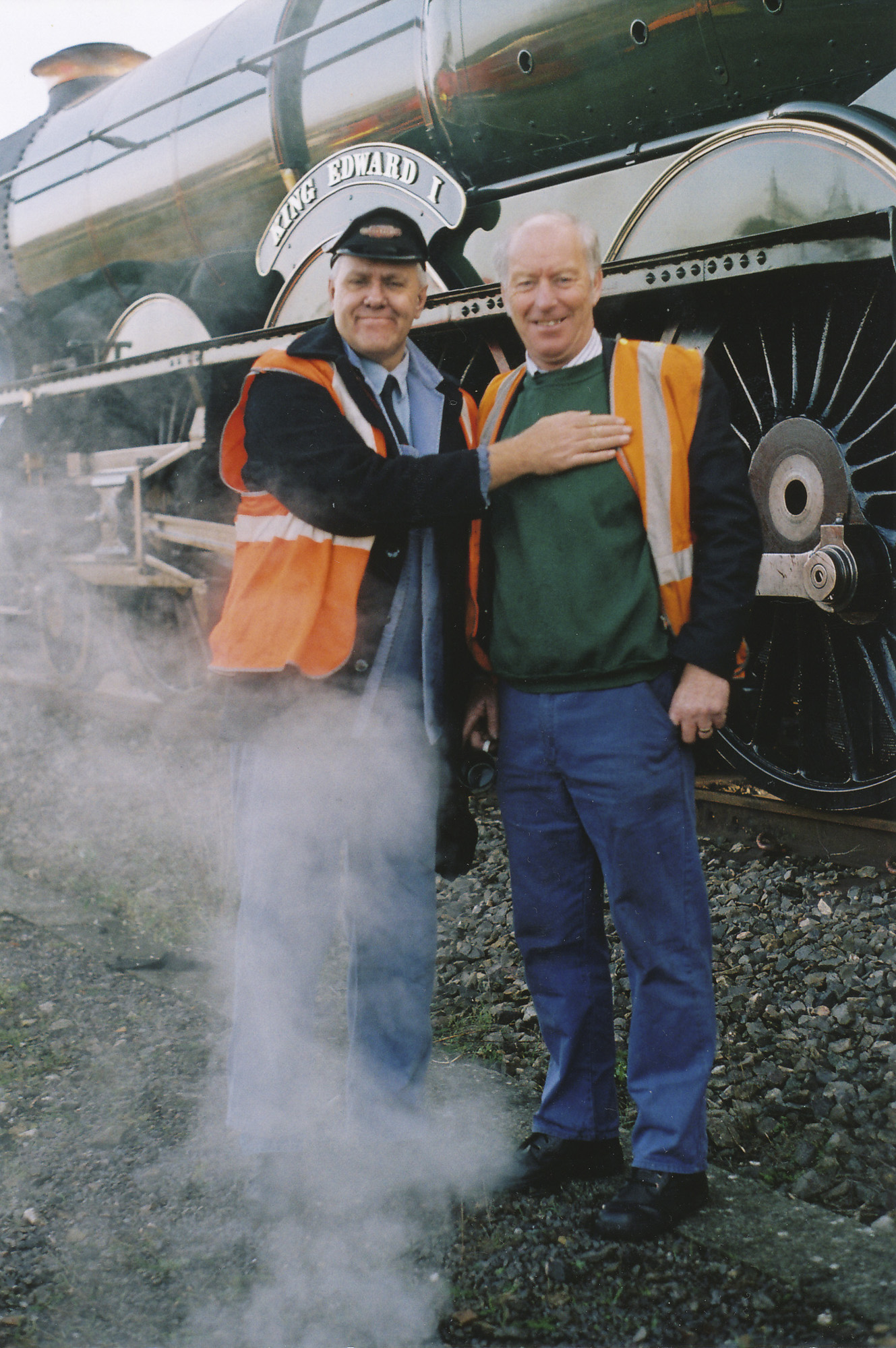 Paul Burns and Geoff Ewans. © Bob Robson/6024PS Ltd