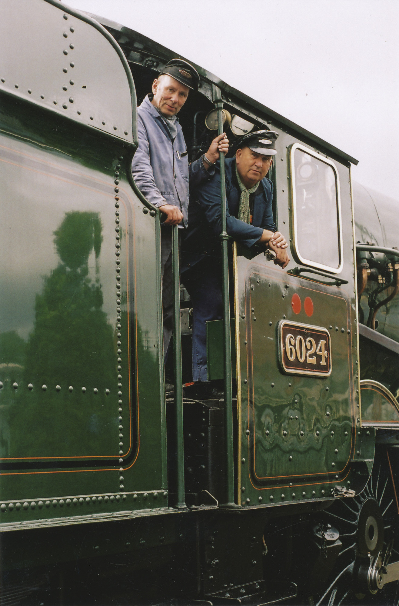Severn Valley men, John Price driving. © Bob Robson/6024PS Ltd