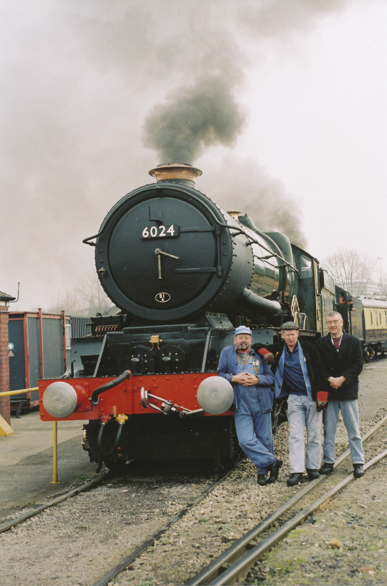 Arthur Bromley, Chris Bayliss and Frank Sutton. © Bob Robson/6024PS Ltd