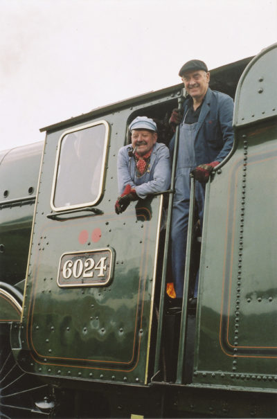 Arthur Bromley and Frank Sutton. © Bob Robson/6024PS Ltd