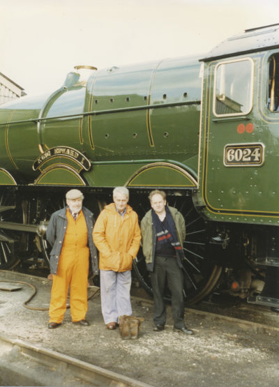 Arthur Bennett, Ted Ileson & Bob Cottrell. © Bob Robson/6024PS Ltd