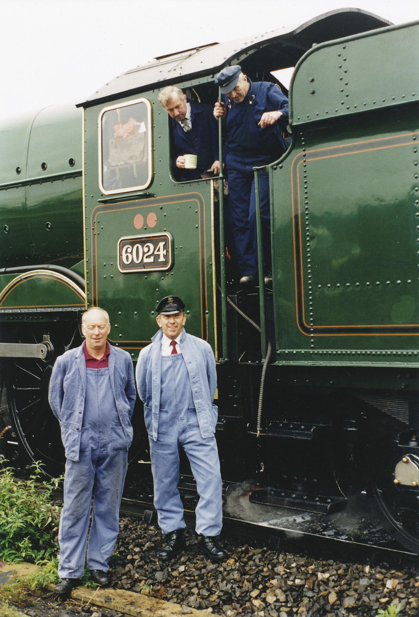 Geoff Ewans and Brian Dudley-Ward. © Bob Robson/6024PS Ltd