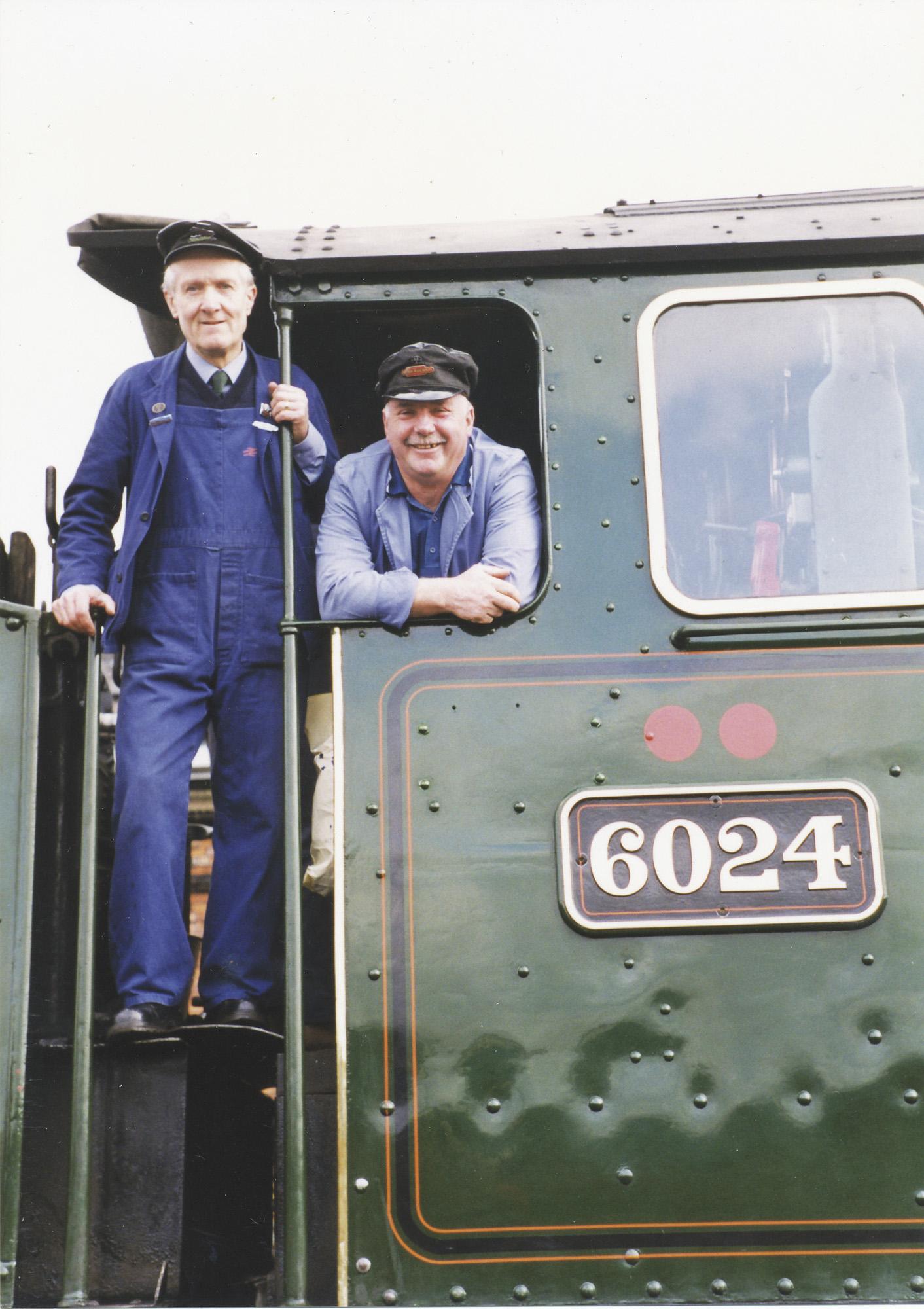 Gordon Hodgson and Paul Kane. © Bob Robson/6024PS Ltd