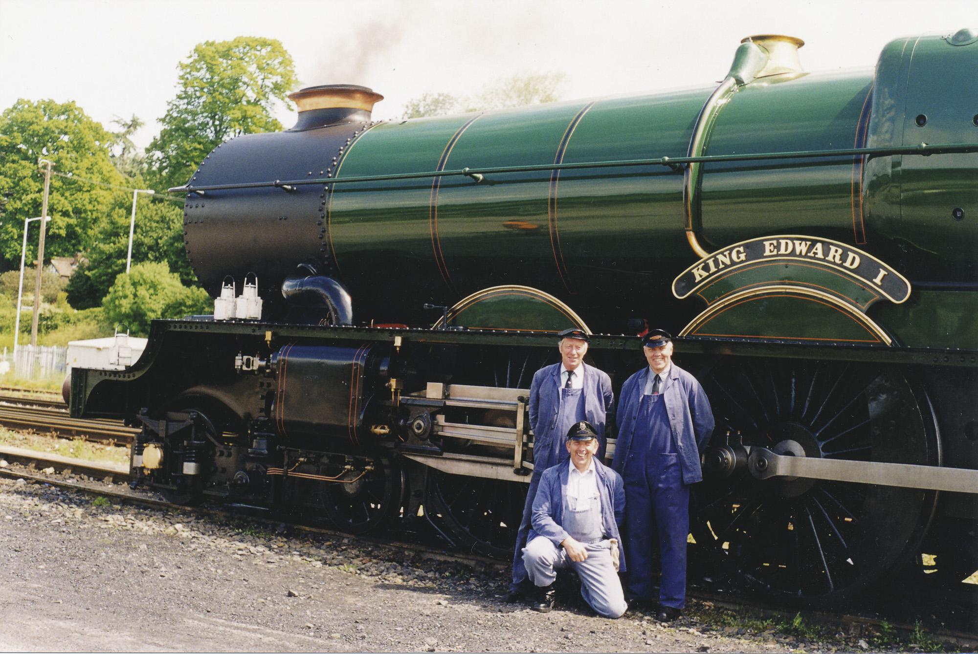 Geoff Ewans, Brian Dudley-Ward and Paul Burns. © Bob Robson/6024PS Ltd