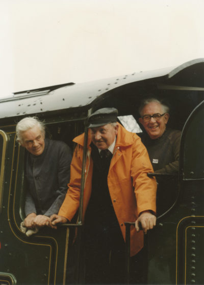 Ted Feasey, Dick Whittington & Dick Hardy. © Bob Robson/6024PS Ltd