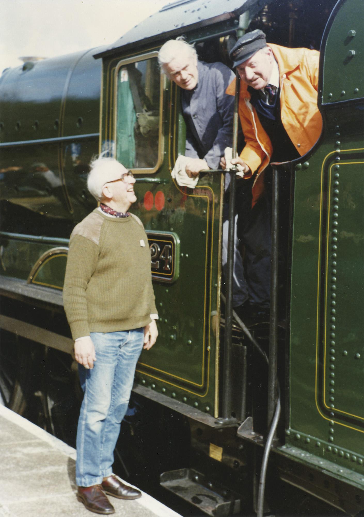 Dick Hardy, Ted Feasby & Dick Whittington. © Bob Robson/6024PS Ltd