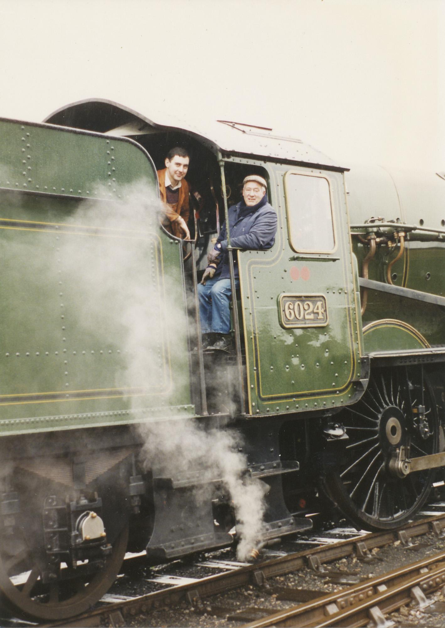 Richard Abbey and Tony Membury. © Bob Robson/6024PS Ltd