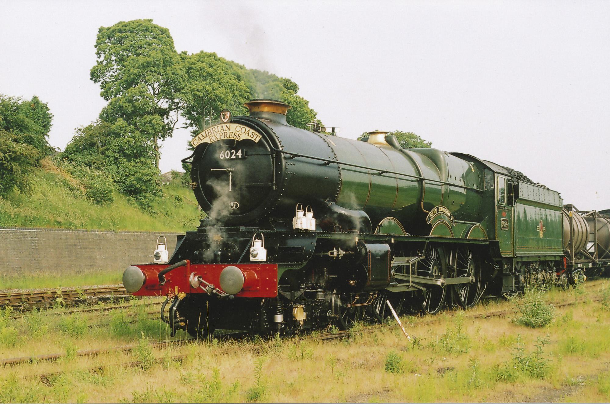 At Shrewsbury. © Bob Robson/6024PS Ltd