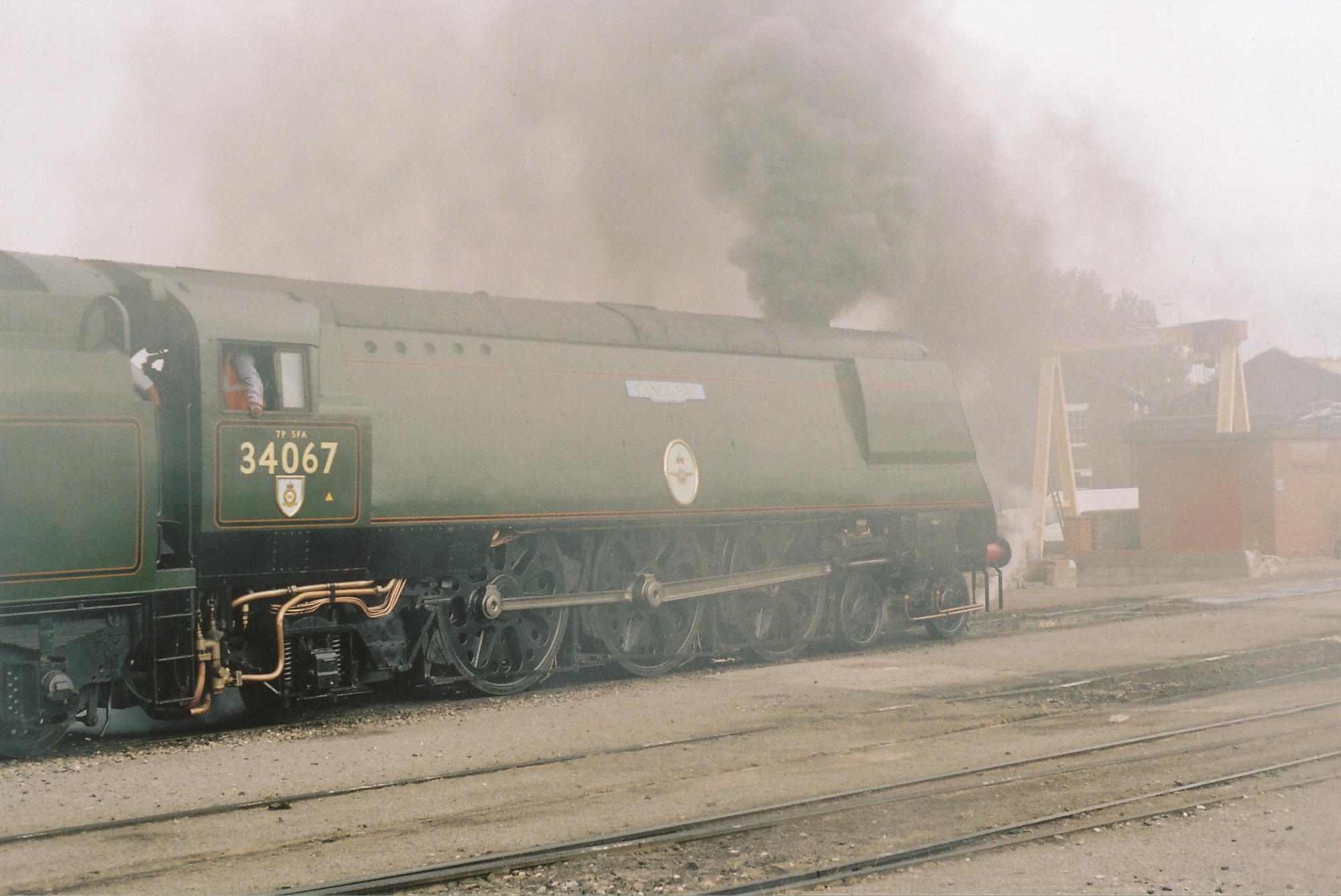 34067 Tangmere. © Bob Robson/6024 PS Ltd