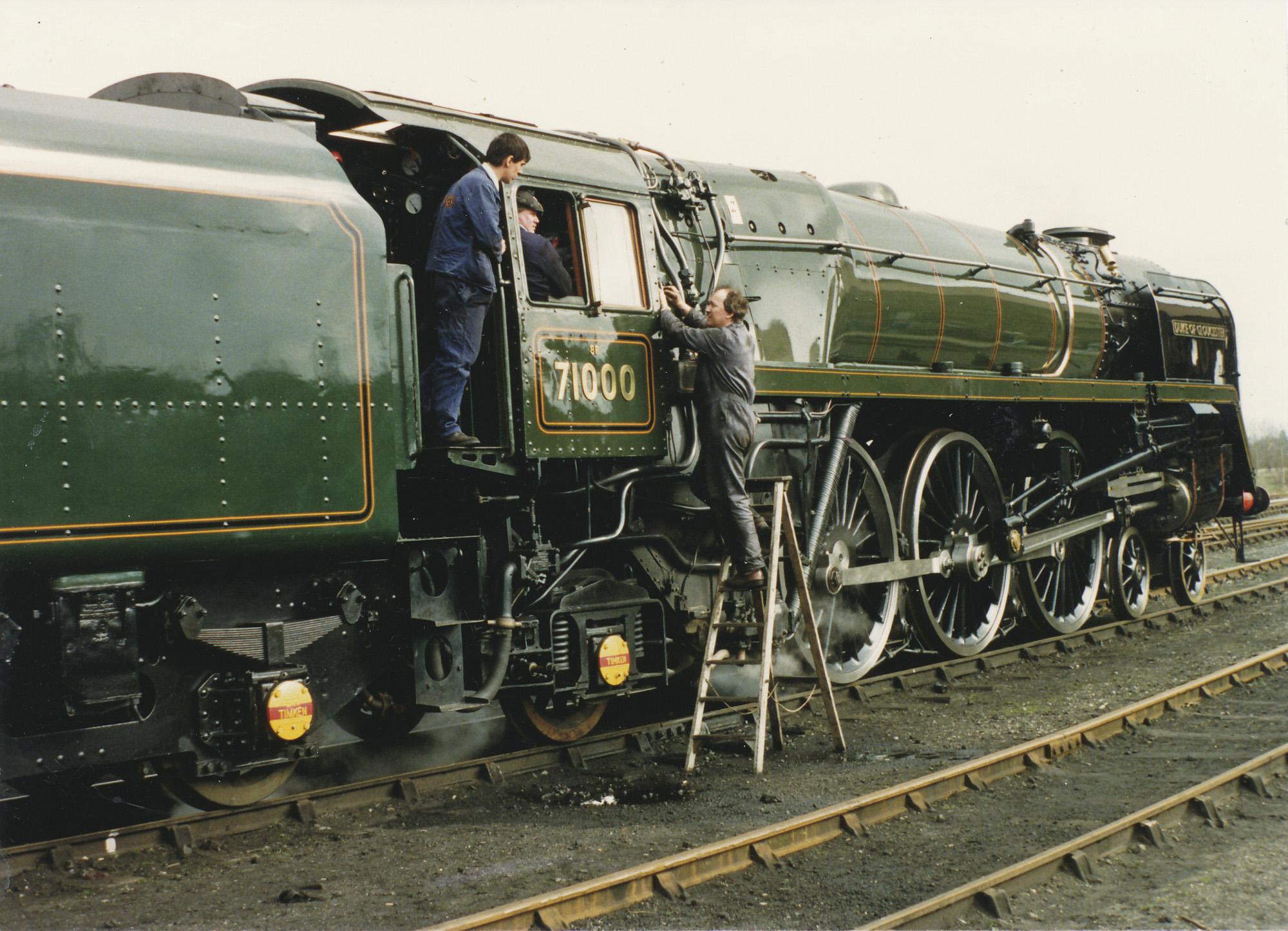 71000 Duke of Gloucester. © Bob Robson/6024 PS Ltd