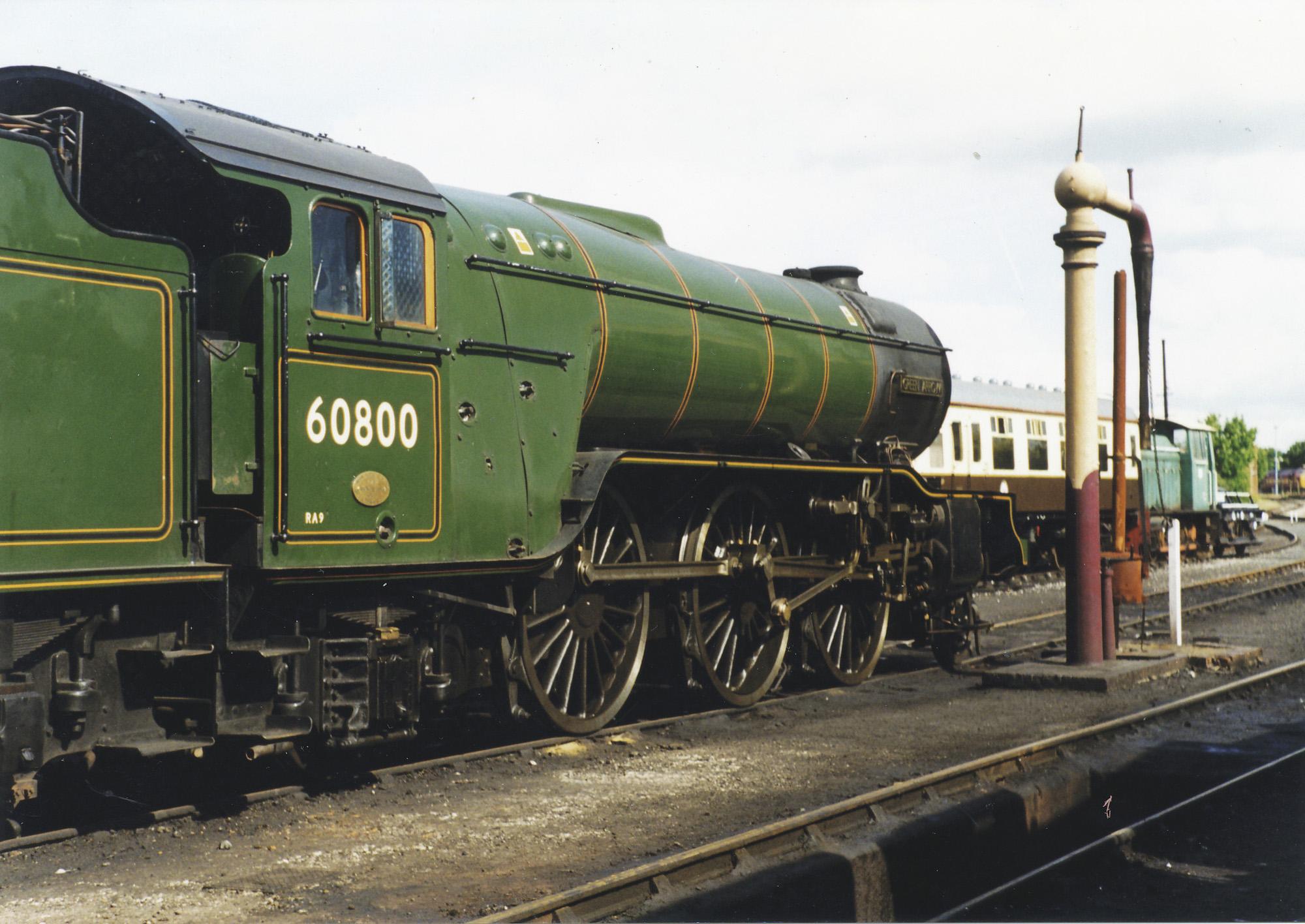 60800 Green Arrow. © Bob Robson/6024 PS Ltd
