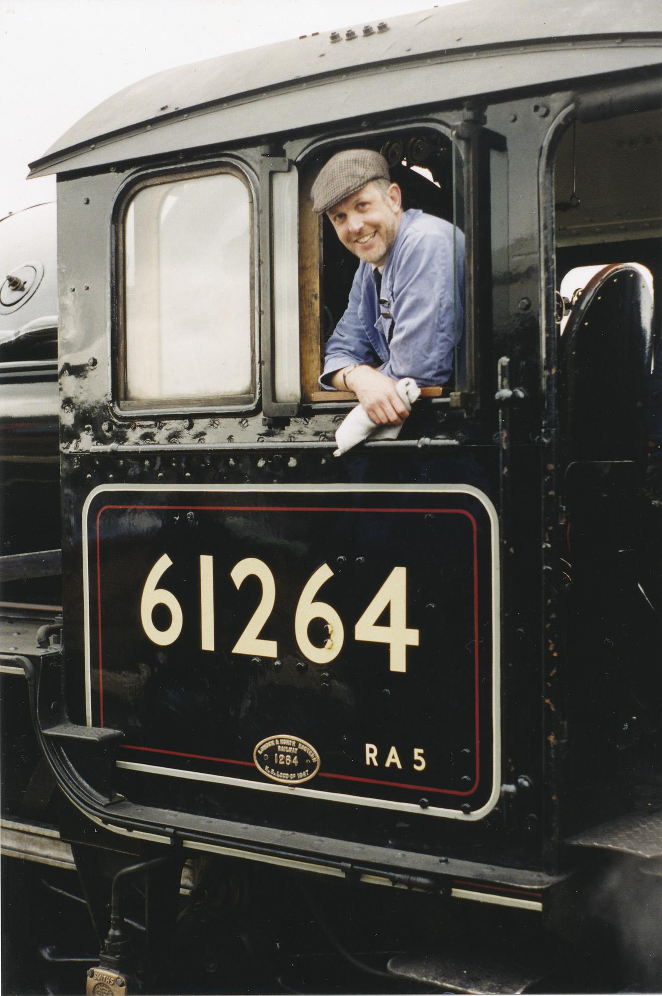 Driver Richard Jones on B1 61264. © Bob Robson/6024 PS Ltd