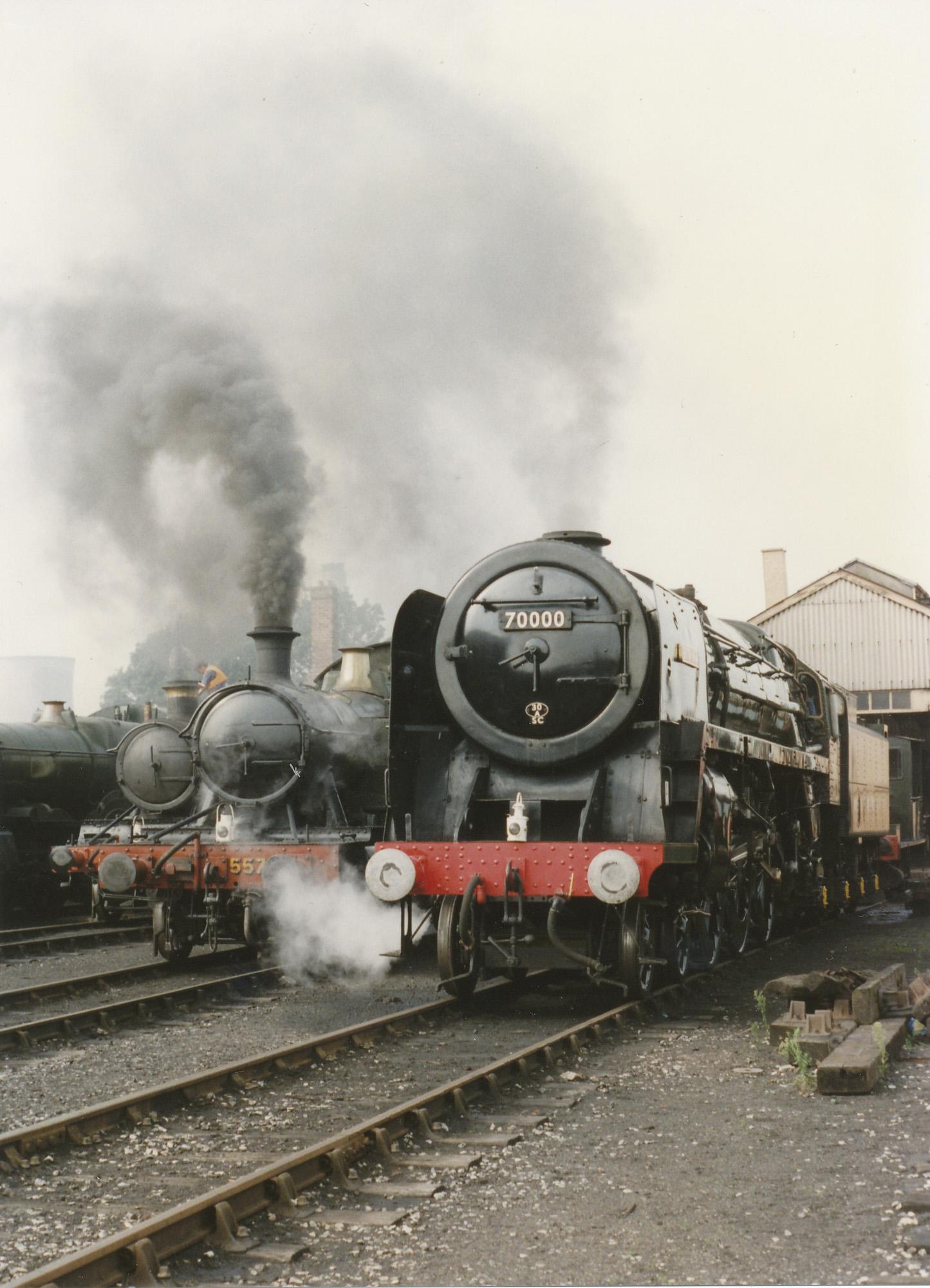 70000 Britannia and friends. © Bob Robson/6024 PS Ltd