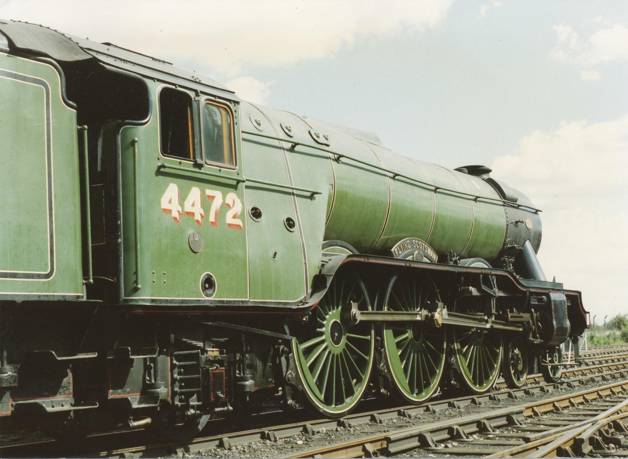 4472 Flying Scotsman. © Bob Robson/6024 PS Ltd