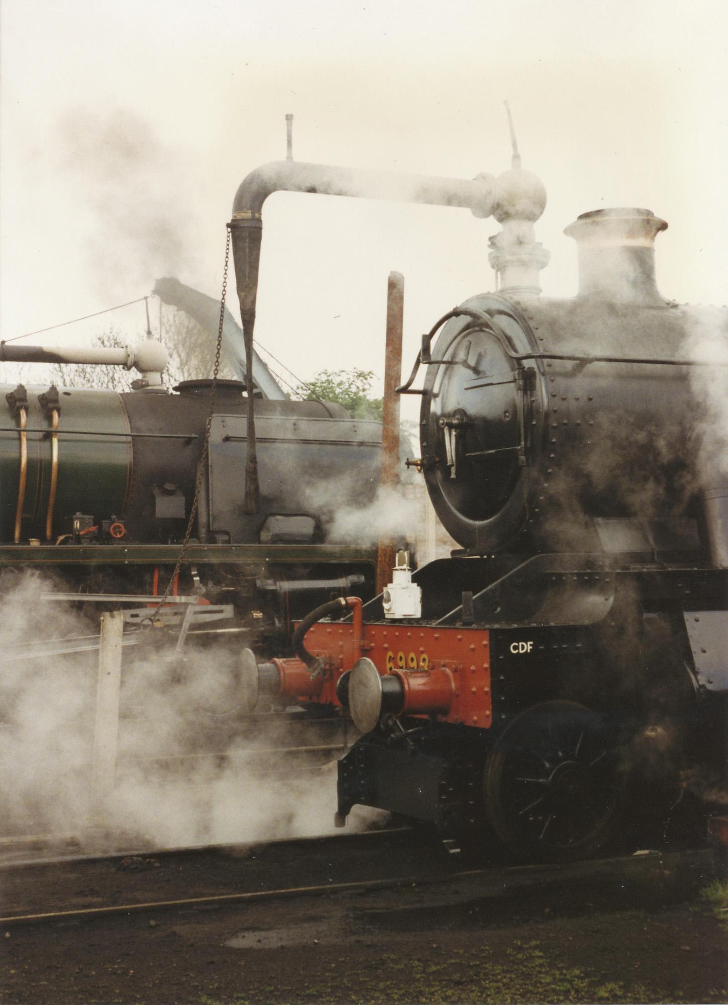 34027 Taw Valley and 6998 Burton Agnes Hall. © Bob Robson/6024 PS Ltd