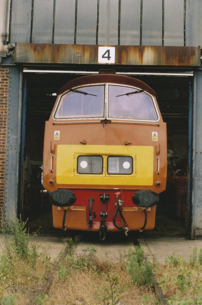 D1015 Western Champion at Old Oak Common. © Bob Robson/6024 PS Ltd