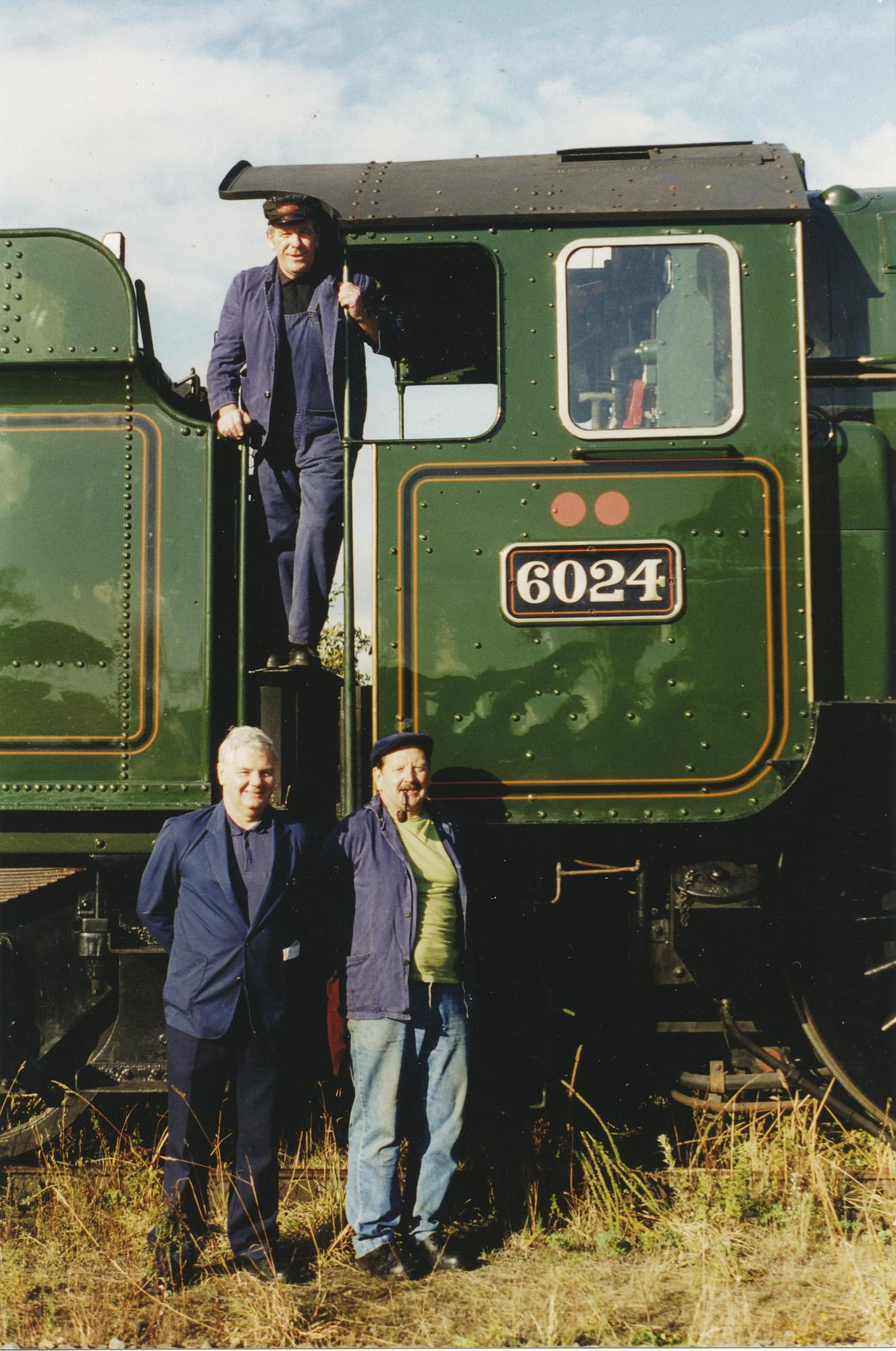 Ray Poole, Gareth Jones (TI) & Arthur Bromley. © Bob Robson/6024PS Ltd