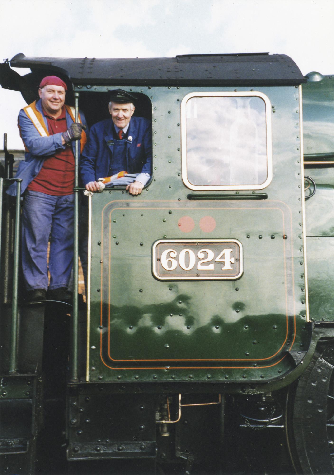 Paul Kane and Gordon Hodgson. © Bob Robson/6024PS Ltd