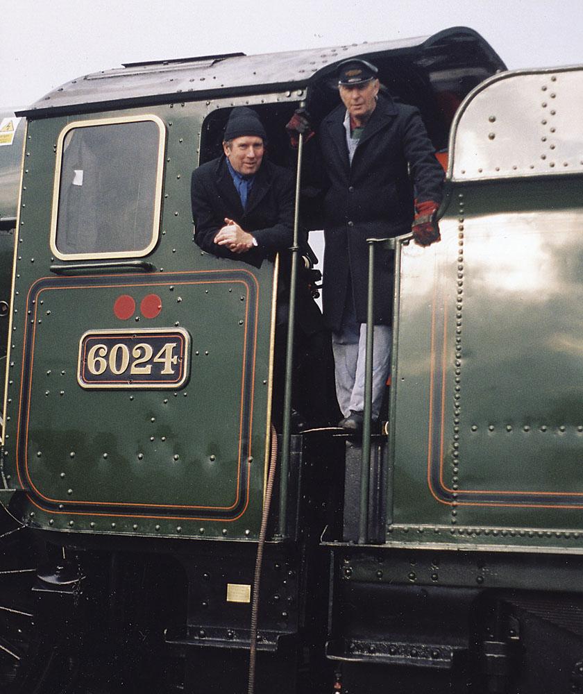 Doug Richards and Geoff Ewans. © Bob Robson/6024PS Ltd