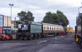 Shunting complete at Minehead. © Martyn Bane