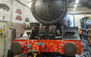 Boiler in the chassis and back in the shed, time for more work! © Martyn Bane