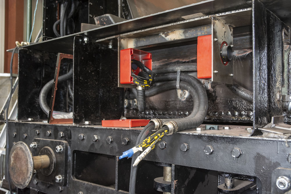 Just some of the wiring on the tender. 15 July 2019 © Martyn Bane