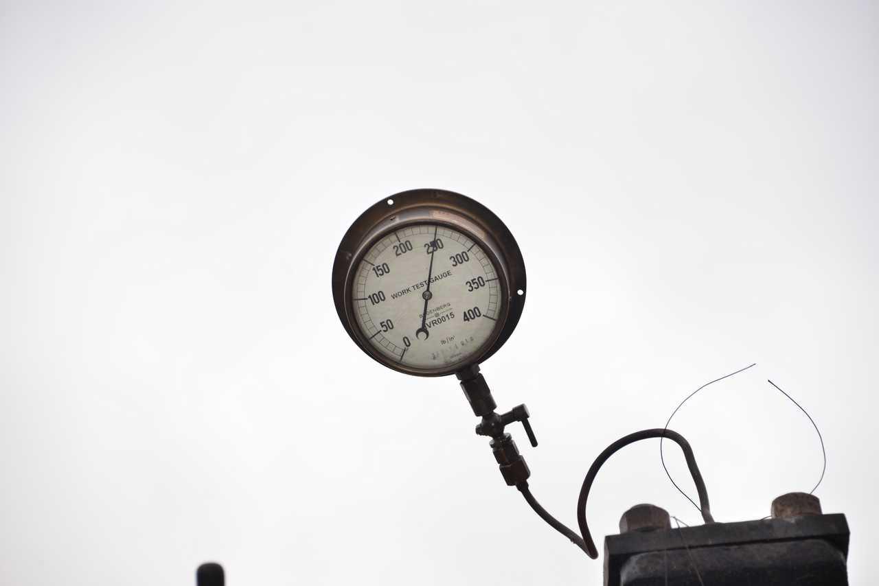 250psi on the boiler pressure gauge once more. © Ken Hill