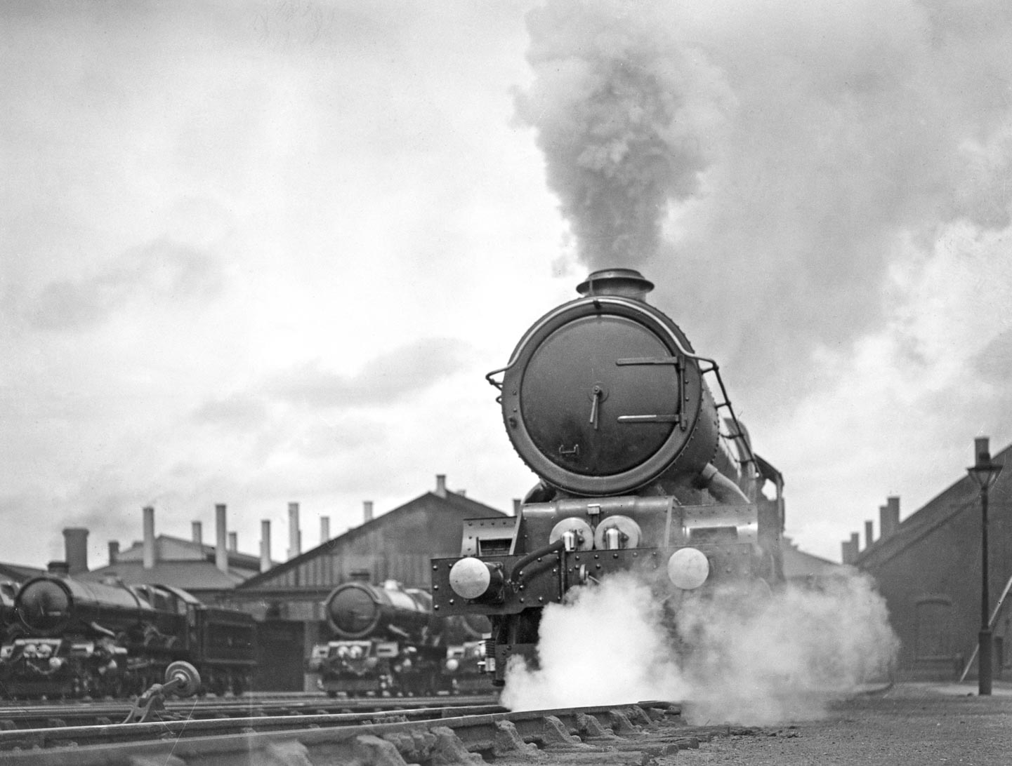 No. 6024 at Swindon when new, 2 July 1930. Courtesy Getty Images.