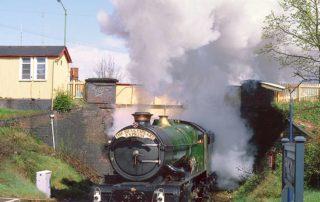 6024 King Edward I at Spring Road station on the North Warwickshire line. 15 April 1990 © John Cooper Smith