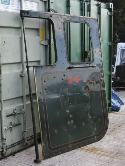 Driver's side cab side sheet, 29 September 2012. © Gerry Hurfurt