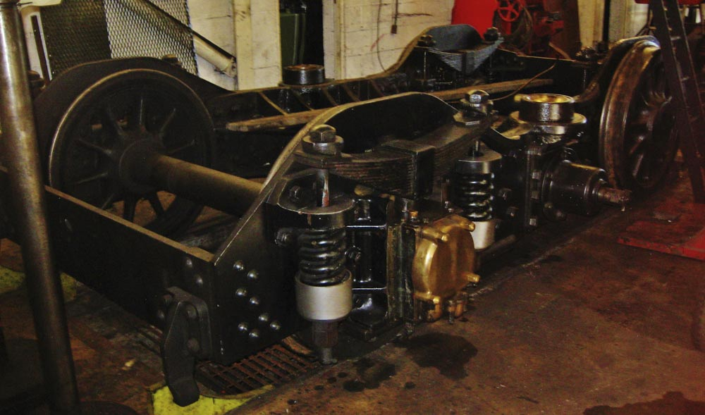 No. 6024's bogie at Minehead, 29 September 2012. © Gerry Hurfurt