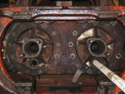 A view motion eye's view of the inside valve covers, 15 November 2012. © Gerry Hurfurt