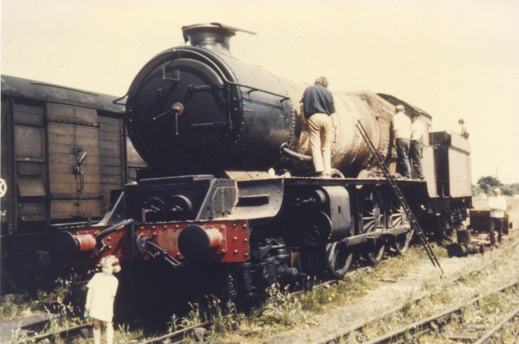 At Quainton in the mid 1970s. © Unknown
